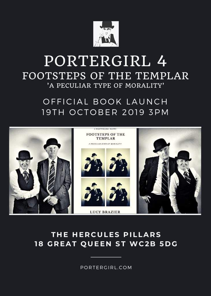 PorterGirl 4 – Footsteps of the Templar BOOK LAUNCH